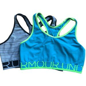 TWO Under Armours Sports Bras